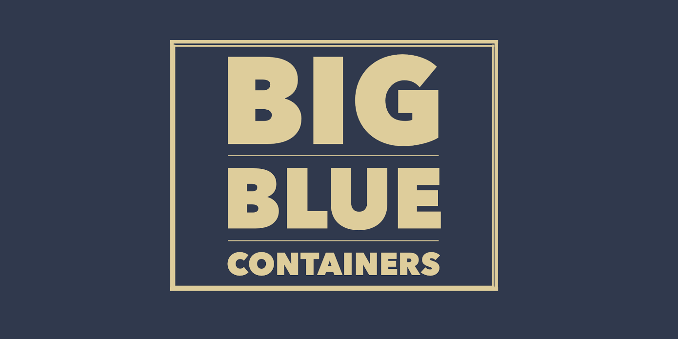 Big Blue Containers